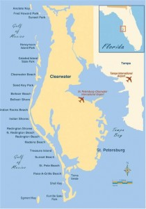 clearwater-beach-map