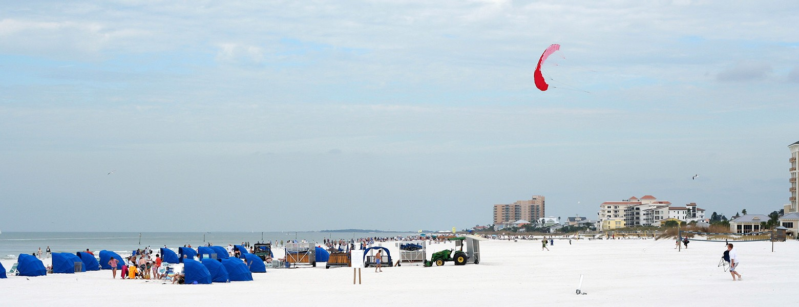 kites on clearwater beach